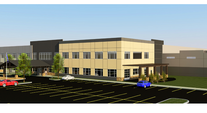 high country beverage building rendering