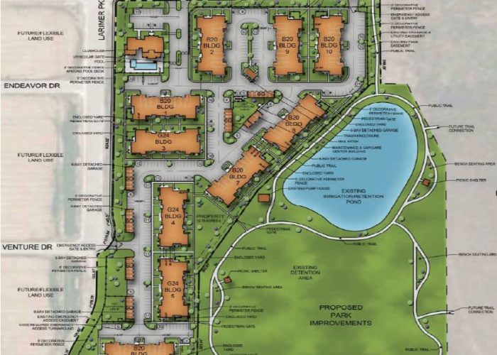 Springs site plan