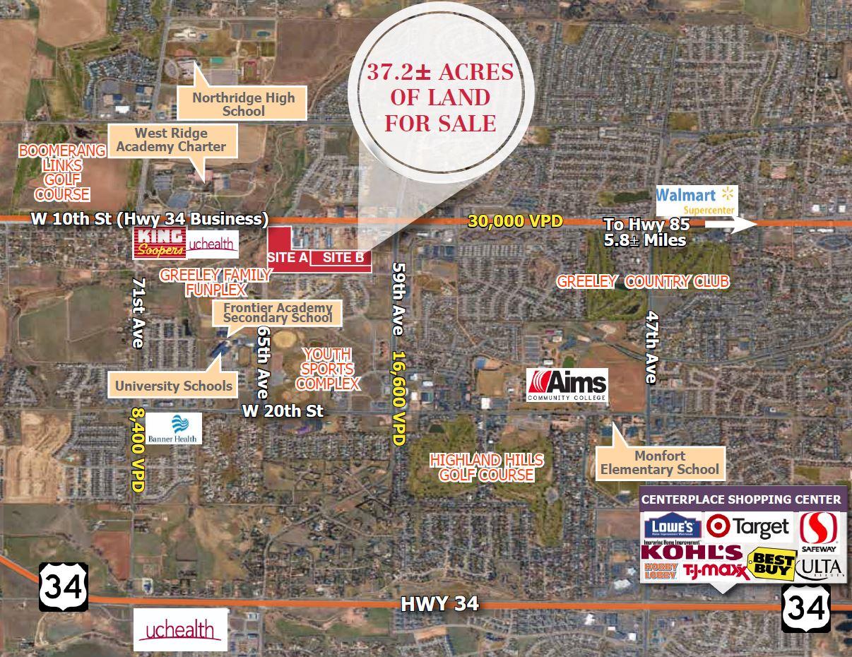 West Greeley Development Land For Sale
