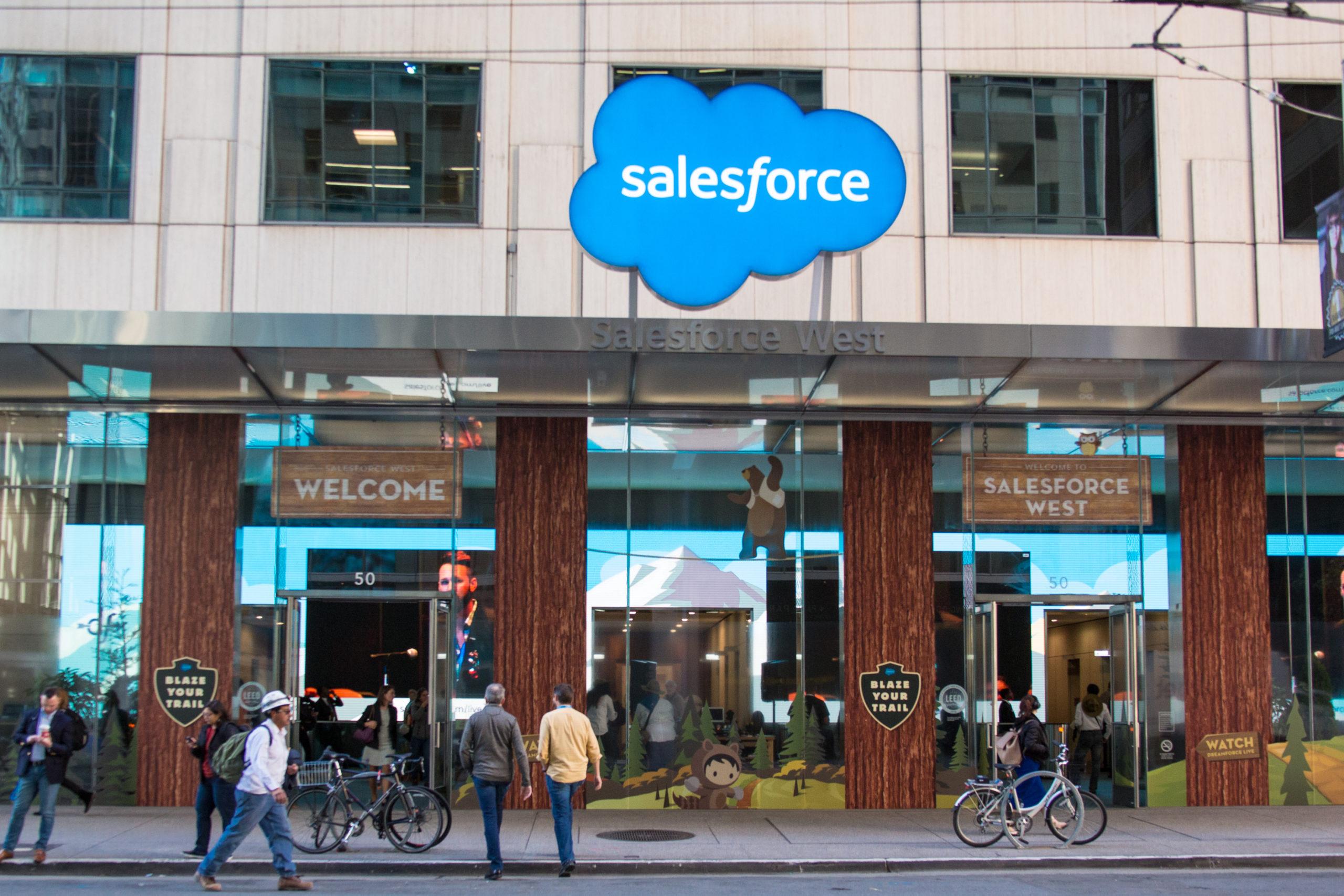 Top Tech: Salesforce CRM